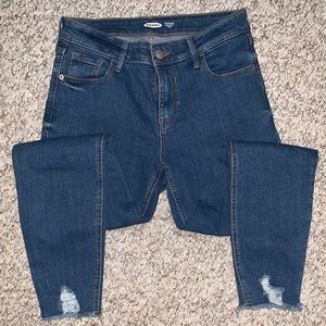 Old Navy High-Waisted Rockstar Super Skinny Jeans
